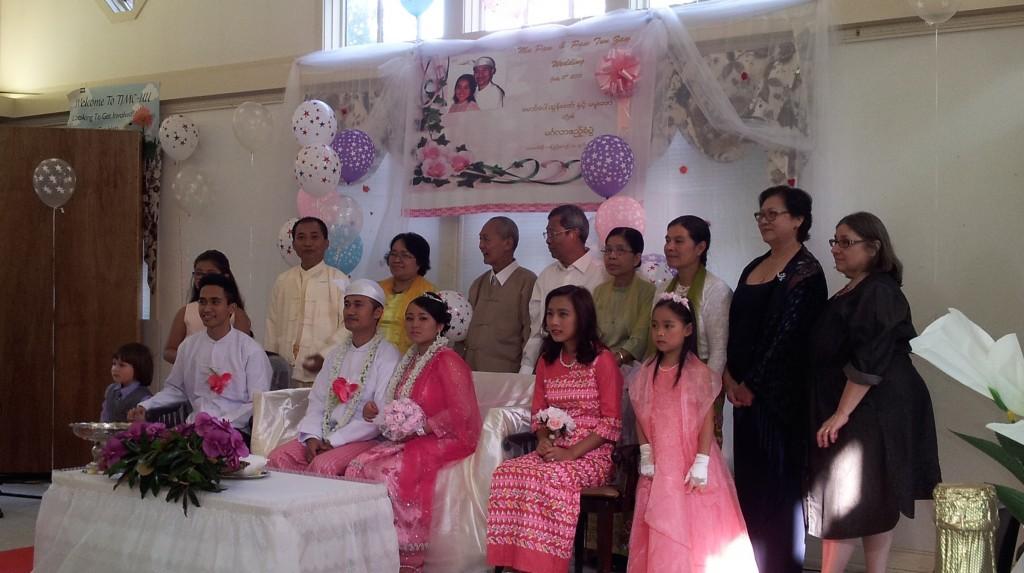 Burmese Wedding