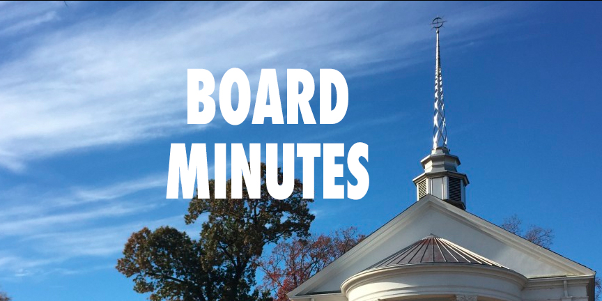 November Board Meeting Draft Minutes